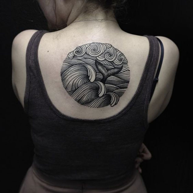 Top 60 Des Tatouages Sur Le Theme De La Vague