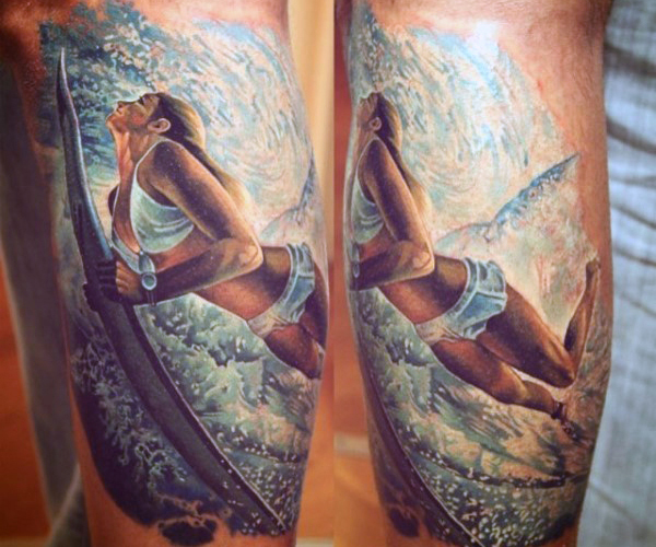 tattoo wave