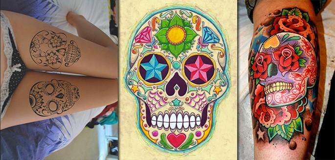 top 60 des plus belles t tes de mort mexicaines. Black Bedroom Furniture Sets. Home Design Ideas