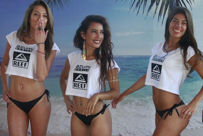 Tiara Fernandez vient d'être élue Miss Reef 2015