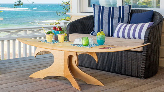 20 fa ons de recycler sa planche de surf - Table planche de surf ...