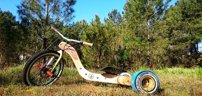 construire son propre drift trike en bois   marc l u0026 39 a fait et vous dit tout