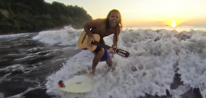 Surfeur chanteur