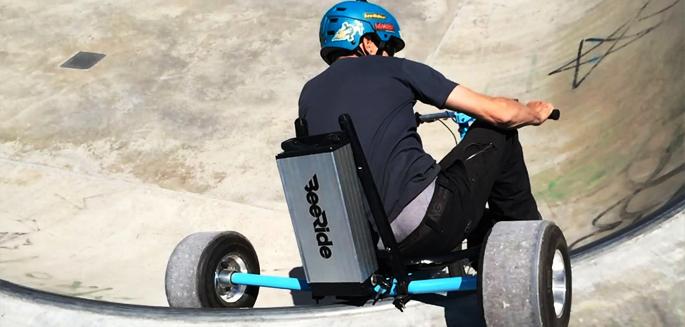 Lancement du premier trike drift lectrique fran ais - Tricycle couche electrique ...