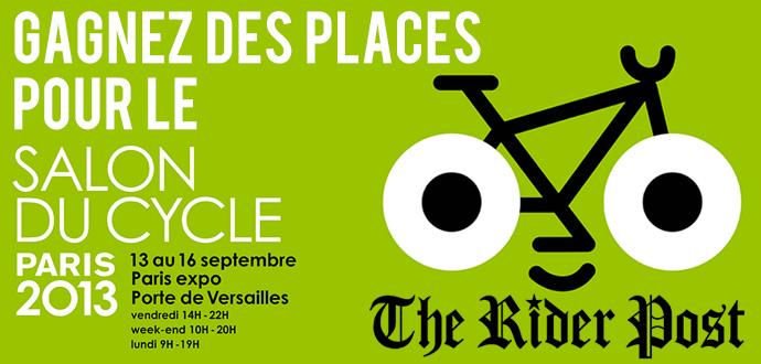 Gagnez des places pour le salon du cycle for Salon porte de versailles ce week end