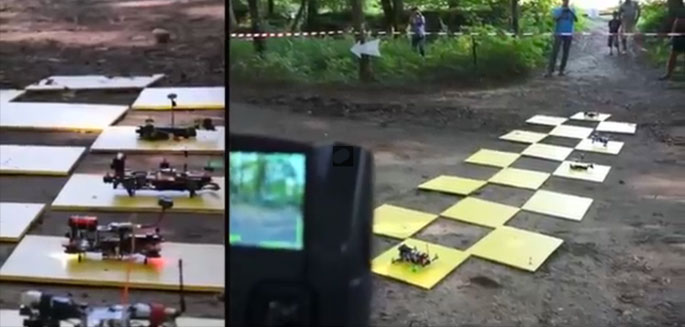 course fpv racer