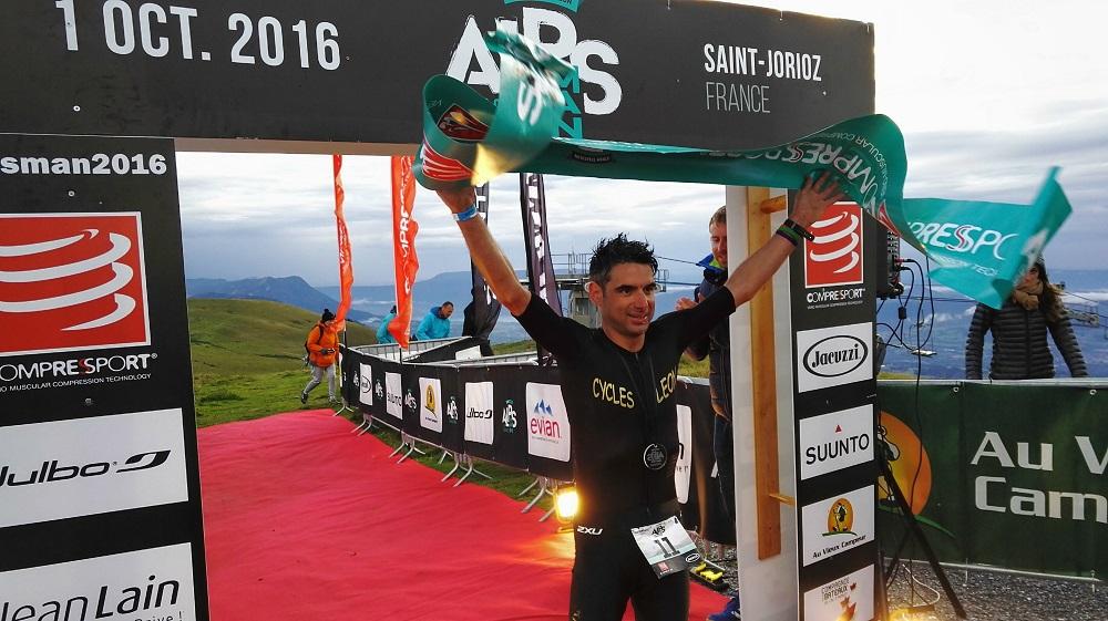 Cédric Jacquot AlpsMan 2016 Top Finisher