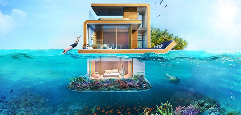 Seahorses Des Luxueuses Maisons Flottantes Duba