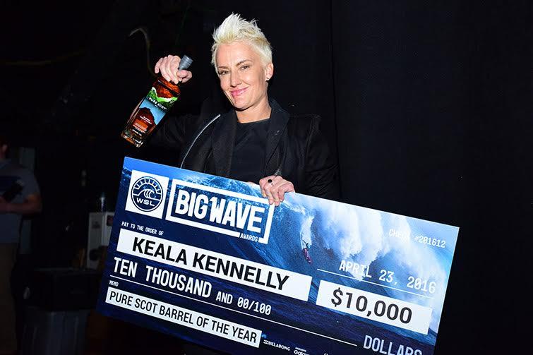 Keala Kennelly aux Big Wave Awards 2016