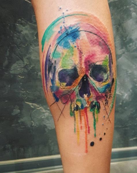 skull-tattoos-couleur