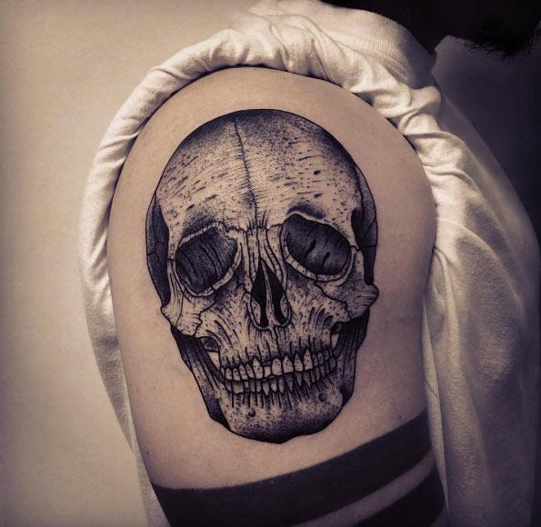 skull-tattoos-epaule
