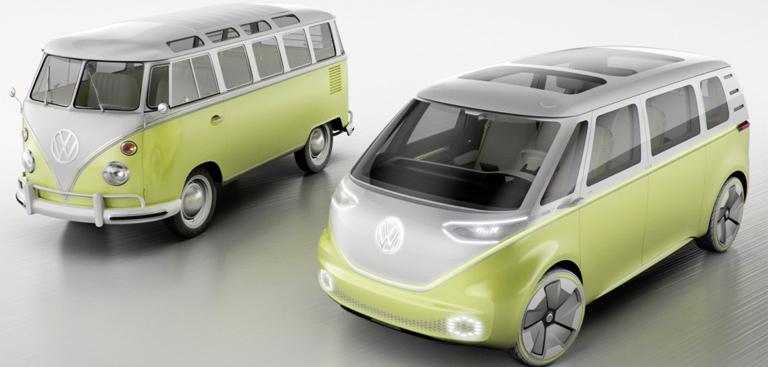 volkswagen ressuscite le combi van en mode lectrique et autonome. Black Bedroom Furniture Sets. Home Design Ideas