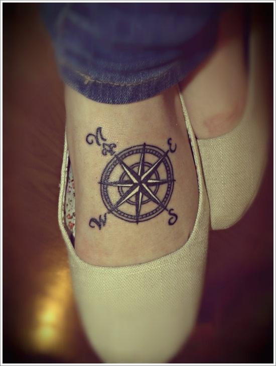 tatouage-rose-des-vents