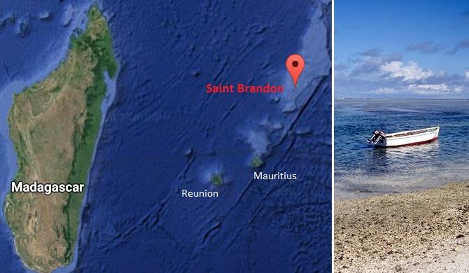 L'archipel de Saint Brandon est un groupe d'une trentaine d'îlots situés en plein milieu de l'Océan Indien à presque 500 kms au Nord de l'île Maurice et de la Réunion