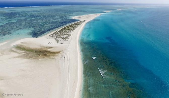 L'archipel de Saint Brandon est composé d'îlots vierges inhabités et d'un immense lagon bourré de vie sauvage.