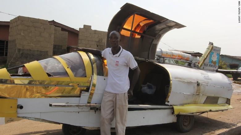 voiture volante amphibie