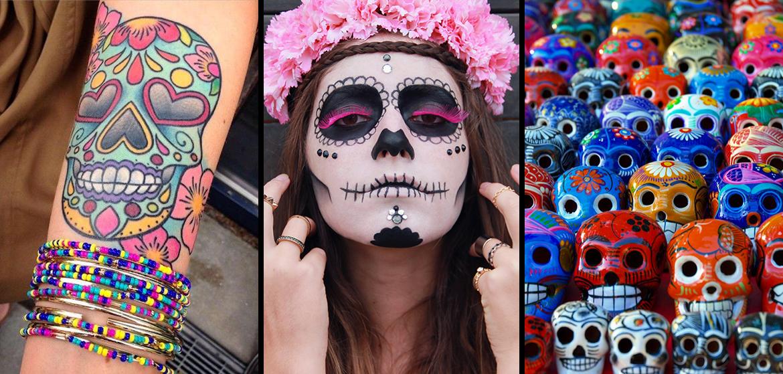 tattoo toutes les infos sur les t tes de morts mexicaines. Black Bedroom Furniture Sets. Home Design Ideas