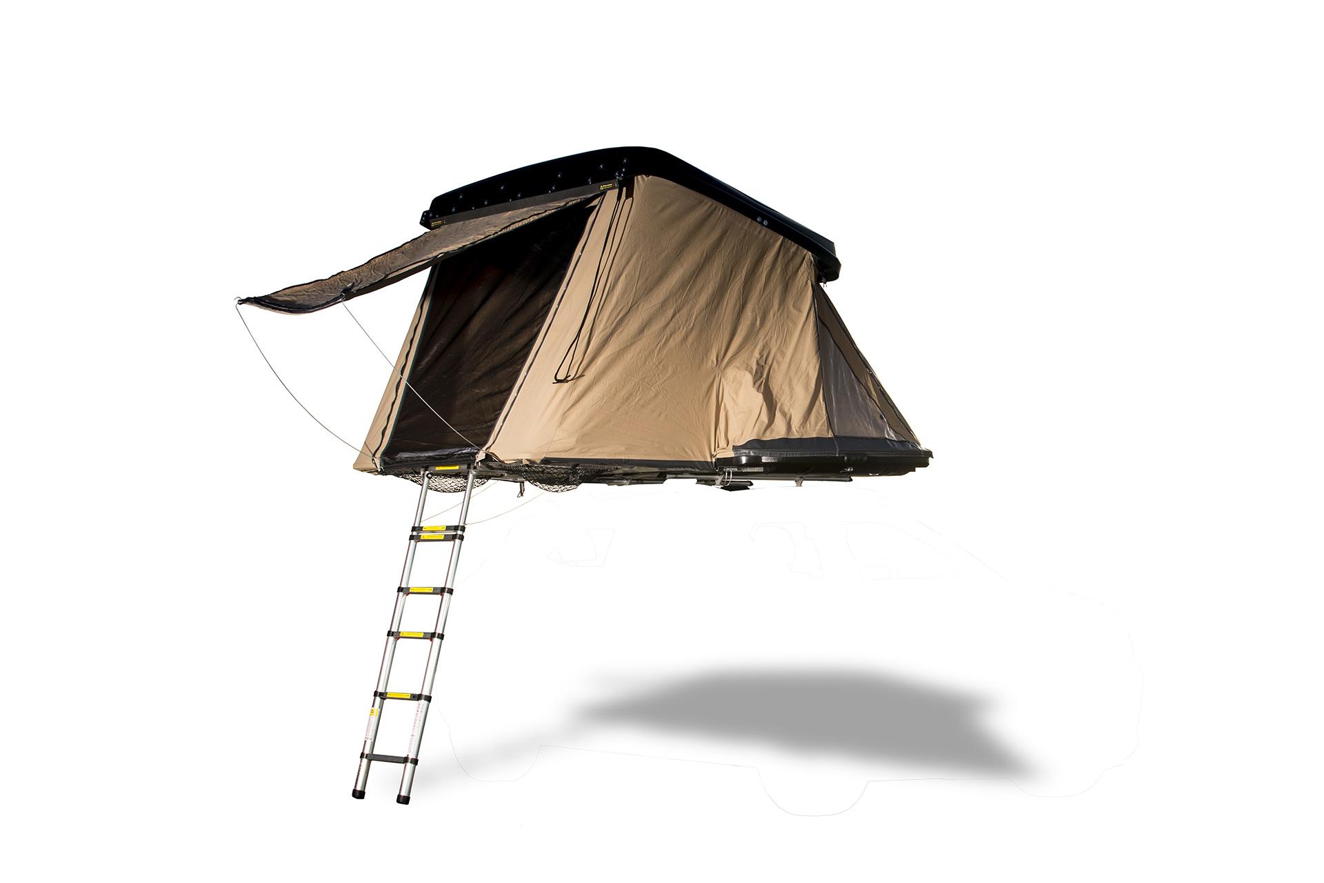 Road trips une tente qui se fixe sur tous les v hicules for Table qui se deplie