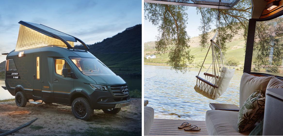 Voici le camping-car du futur ultra confort