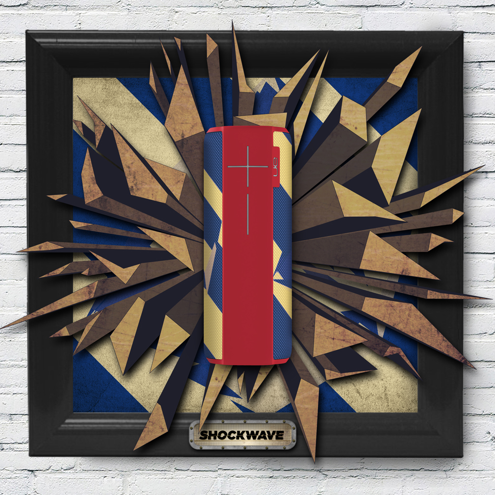 UE MEGABOOM Red Bull Shockwave