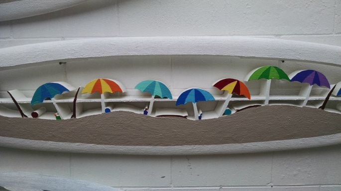 Umbrella board surf Jimmy Rommo