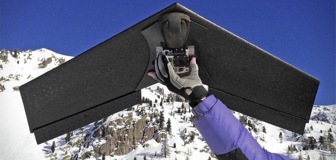 drone aile volante