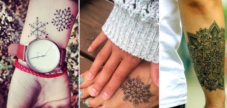 Top 50 Des Plus Beaux Tatouages De Flocon De Neige