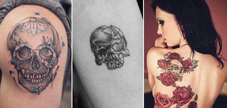 Top 60 Des Plus Beaux Tatouages Avec Une Tete De Mort
