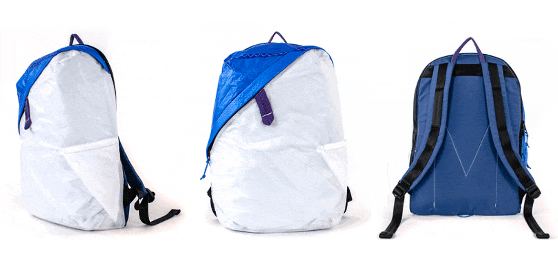 deep blue bag le sac en voile de bateau recycl e. Black Bedroom Furniture Sets. Home Design Ideas