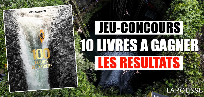 Resultats Jeu Concours 10 Livres A Gagner Avec Larousse
