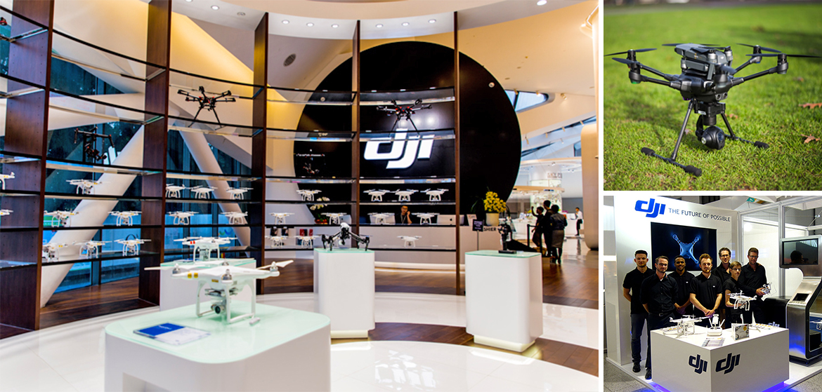 dji le leader mondial des drones ouvre un store paris. Black Bedroom Furniture Sets. Home Design Ideas